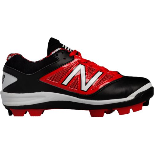 New Balance Kids\u0027 Low-Cut 4040v2 Rubber Molded Baseball Cleats