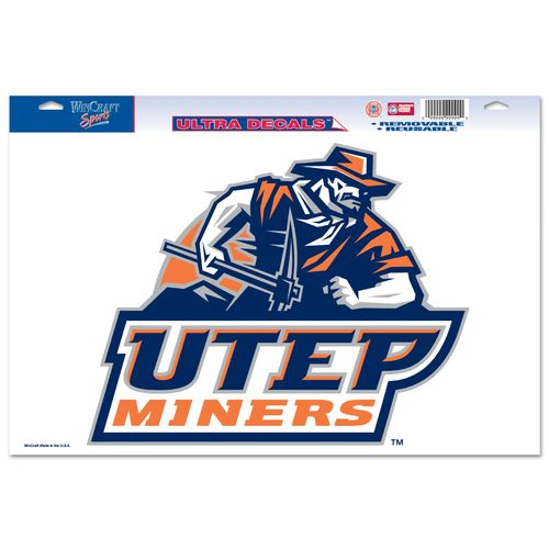 WinCraft University of Texas at El Paso Multiuse Decal
