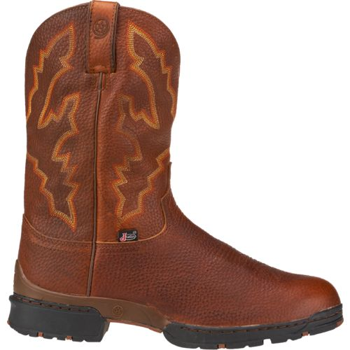 Display product reviews for Justin Men's George Strait Waterproof Western Boots