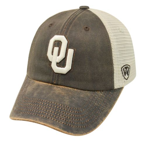 Top of the World Adults' University of Oklahoma ScatMesh Cap - view number 1