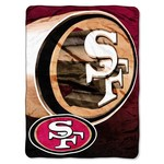 The Northwest Company San Francisco 49ers Bevel Micro Raschel Throw