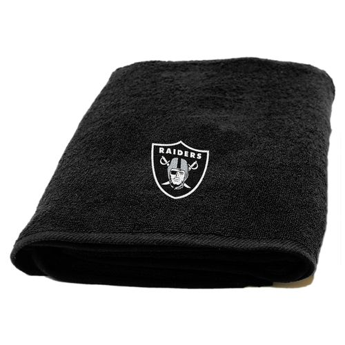 The Northwest Company Oakland Raiders Appliqué Bath Towel - view number 1