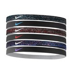 Nike Women's Printed Assorted Headbands 6-Pack