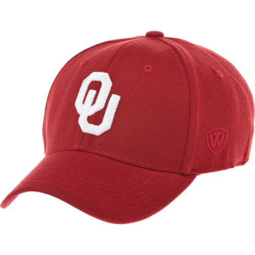 Top of the World Adults' University of Oklahoma Premium Collection Memory Fit™ Cap - view number 1