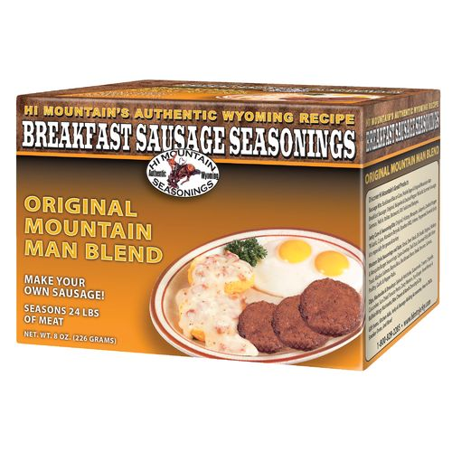 Hi Mountain Jerky Original Mountain Man Breakfast Sausage