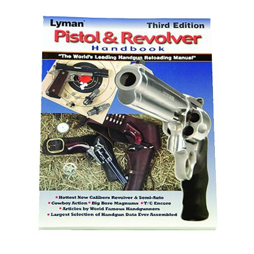 Lyman Pistol and Revolver Reloading Manual Handbook