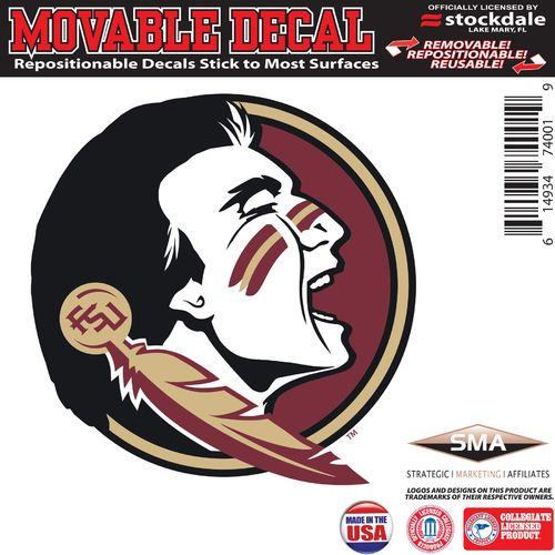 "Stockdale Florida State University 6"" x 6"" Decal"