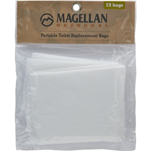 Magellan Outdoors Jon Bag Portable Toilet Replacement Bags 12-Pack - view number 1