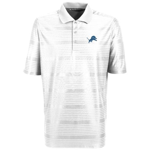 Antigua Men's Detroit Lions Illusion Polo Shirt