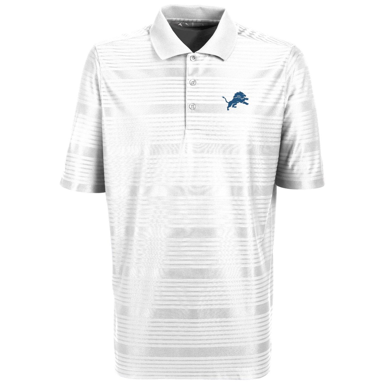Antigua Men's Detroit Lions Illusion Polo Shirt