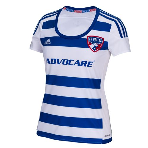 adidas Women's FC Dallas Replica Short Sleeve Jersey