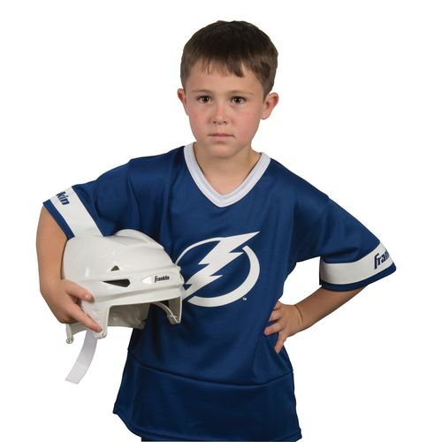 Franklin Kids' Tampa Bay Lightning Uniform Set - view number 2