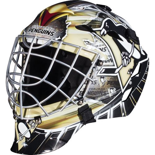 Franklin Boys' Pittsburgh Penguins GFM 1500 Goalie Face Mask