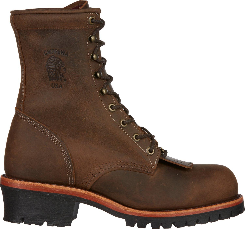 Chippewa Boots® Men's Apache Utility Steel-Toe Logger Rugged