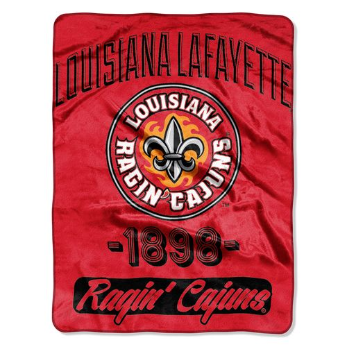 The Northwest Company University of Louisiana at Lafayette Varsity Micro Raschel Throw