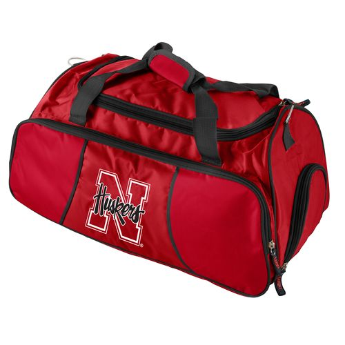 Logo University of Nebraska Athletic Duffel Bag