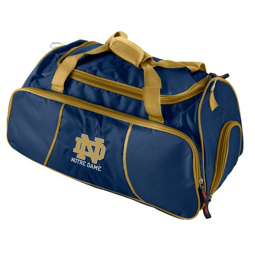 Logo University of Notre Dame Athletic Duffel Bag