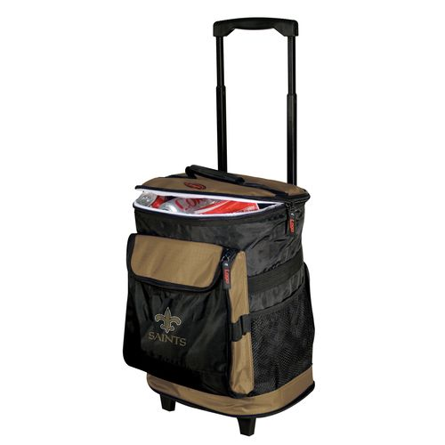 Logo™ New Orleans Saints Rolling Cooler - view number 1