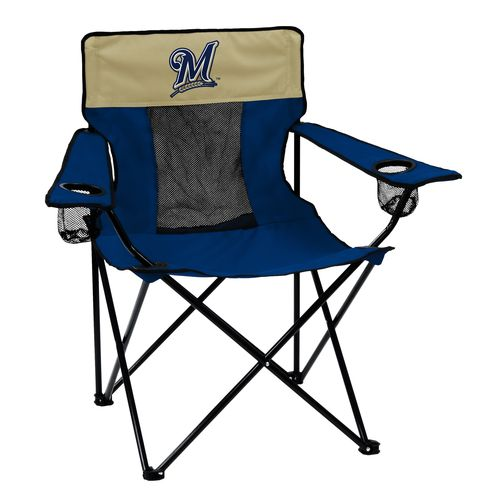 Logo™ Milwaukee Brewers Elite Chair