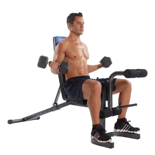 Pure Fitness Adjustable FID Flat/Incline/Decline Weight Bench - view number 2