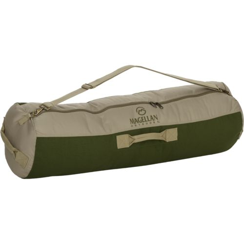 Display product reviews for Magellan Outdoors 42 in x 15 in Cotton Canvas Barrel Duffel Bag