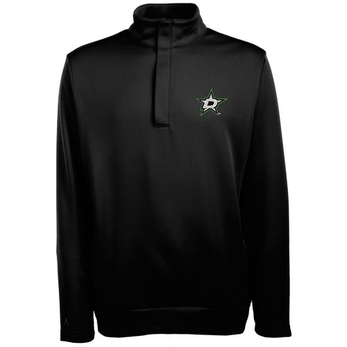 Antigua Men's Dallas Stars Victor 1/2 Zip Pullover