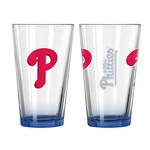 Boelter Brands Philadelphia Phillies Elite 16 oz. Pint Glasses 2-Pack - view number 1