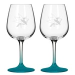 Boelter Brands San Jose Sharks 12 oz. Wine Glasses 2-Pack