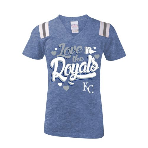 5th & Ocean Clothing Girls' Kansas City Royals Love My Team T-shirt