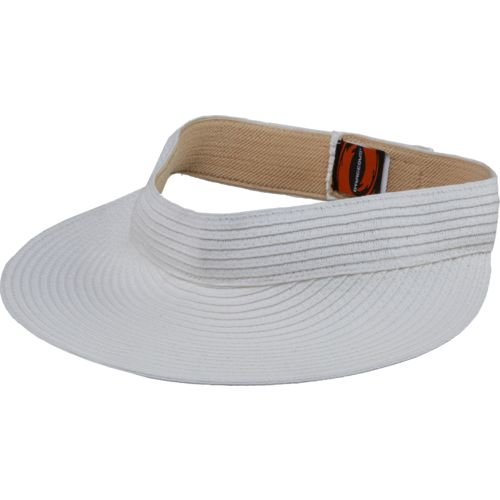 O'Rageous Women's Solid Paper Braid Visor