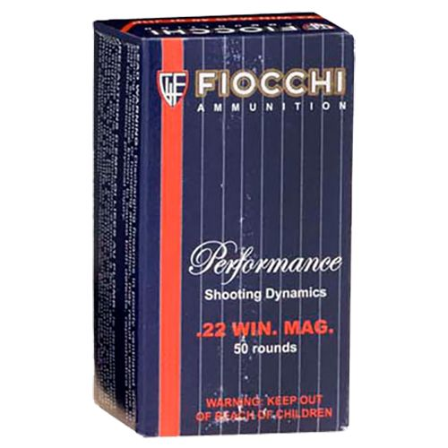 Fiocchi Extrema .22 Winchester Magnum Rimfire 40-Grain Jacketed Soft-Point Rimfire Ammunition