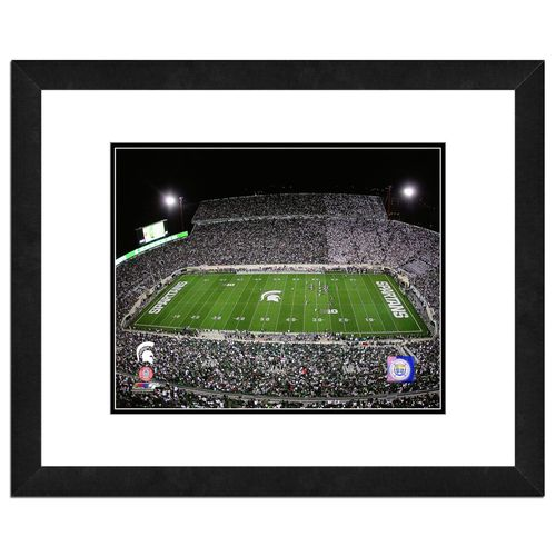 Photo File Michigan State University Stadium 16' x 20' Matted and Framed Photo