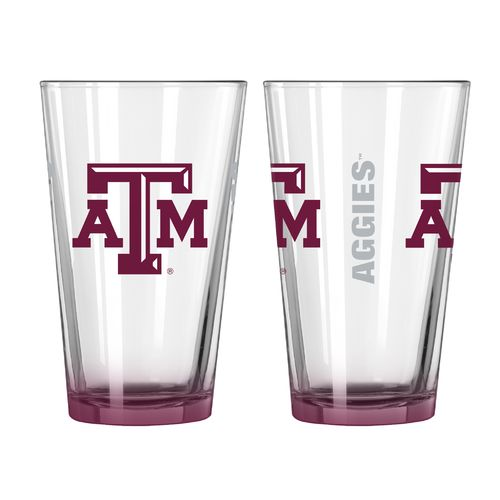 Boelter Brands Texas A&M University Elite 16 oz. Pint Glasses 2-Pack - view number 1