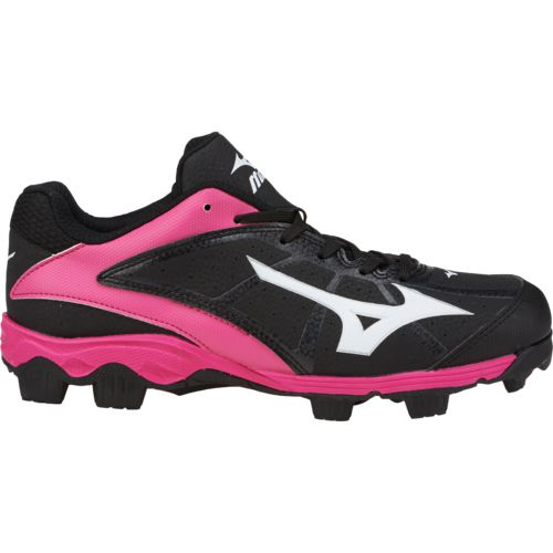 Display product reviews for Mizuno Girls' Finch Franchise 6 Advanced 9-Spike Molded Softball Cleats