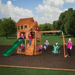 Backyard Discovery™ Liberty II Wooden Swing Set - view number 2