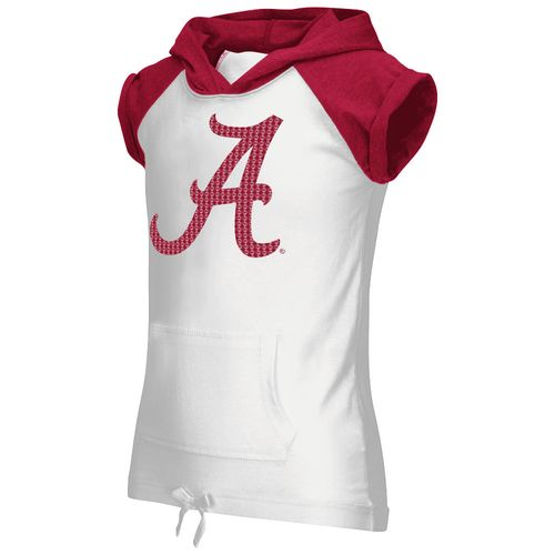 Colosseum Athletics Girls' University of Alabama Jewel Short Sleeve Hoodie
