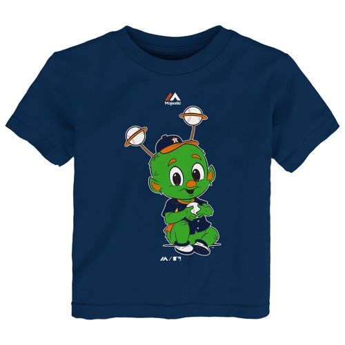 Majestic Toddlers' Houston Astros Baby Mascot Short Sleeve T-shirt