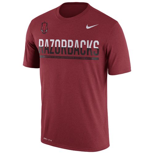 Nike™ Men's University of Arkansas Legend Staff T-shirt