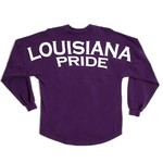 Above Wings™ Adults' Wing Back™ Louisiana Pride Long Sleeve Shirt