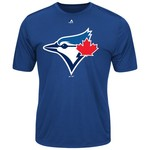 Majestic Men's Toronto Blue Jays Synthetic Official Logo T-shirt
