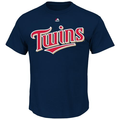 Majestic Men's Minnesota Twins Brian Dozier #2 T-shirt - view number 2
