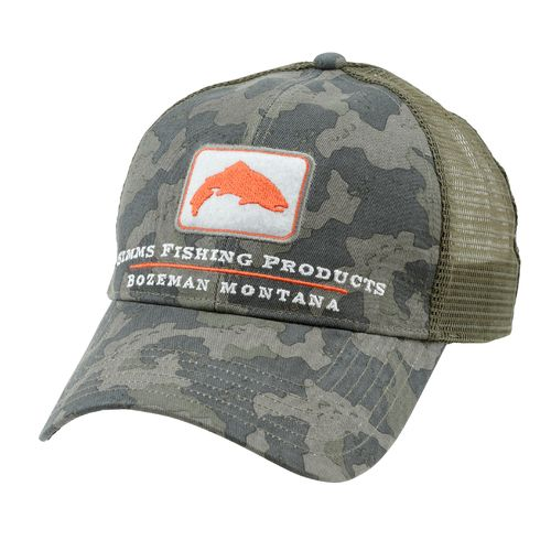 Simms® Adults' Trout Trucker Cap