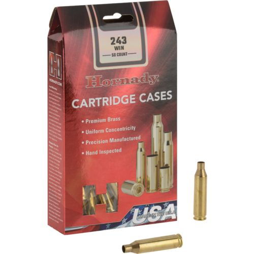 Hornady .243 Winchester Unprimed Cases
