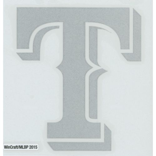 WinCraft Texas Rangers Reflective Perfect Cut Decal