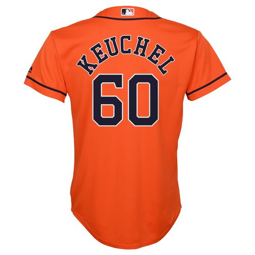 Majestic Boys' Houston Astros Dallas Keuchel Cool Base Alternate Jersey