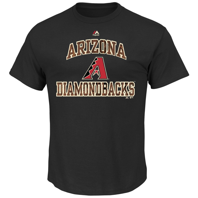 Majestic Men's Arizona Diamondbacks Inside the Box T-shirt