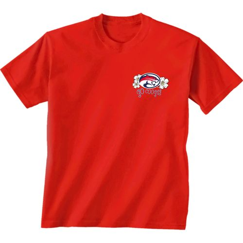 New World Graphics Women's University of Houston Bright Plaid T-shirt - view number 2