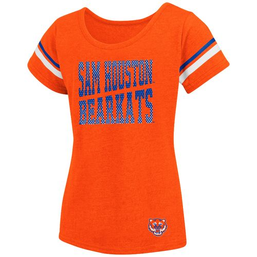 Colosseum Athletics™ Girls' Sam Houston State University Fading Dot T-shirt