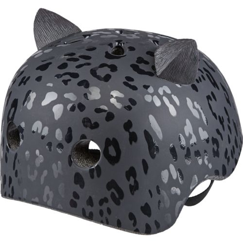 Krash Youth Leopard Kitty Bicycle Helmet - view number 2