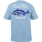 Salt Life Men's Fish with Class Short Sleeve T-shirt